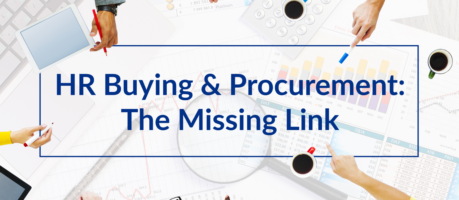 HR Buying & Procurement: The Missing Link