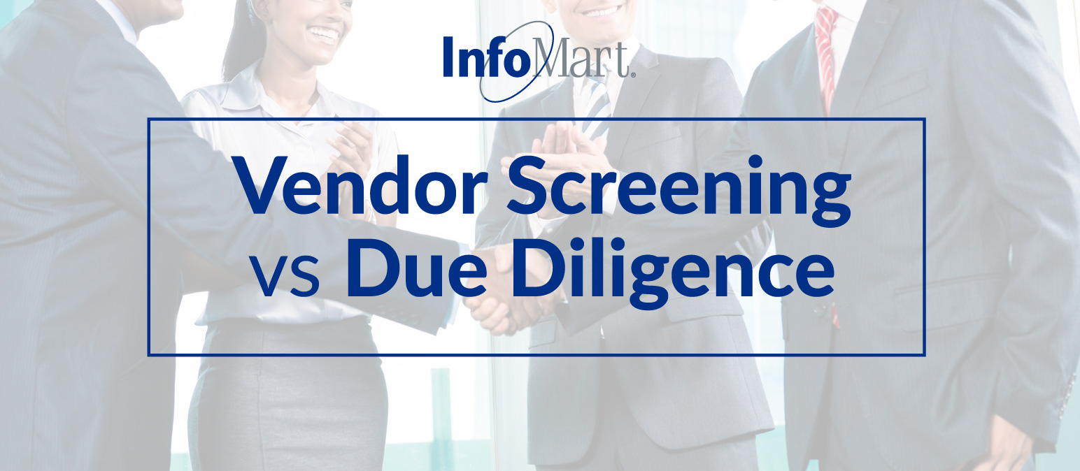 Vendor Screening vs Due Diligence