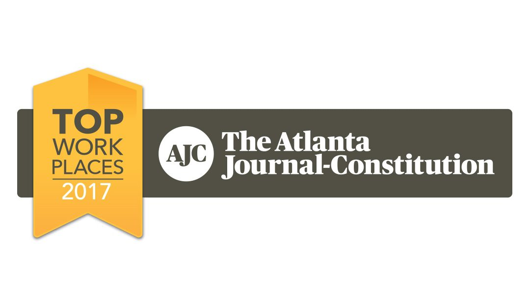 The Atlanta Journal-Constitution Names InfoMart one of the Atlanta Metro Area 2017 Top Workplaces