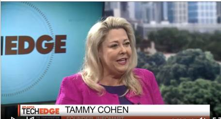 "InfoMart Founder Tammy Cohen appearance on ATL Tech Trends: ""How is AI changing the tech career landscape?"""