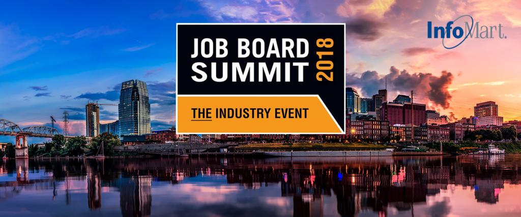 infomart logo for job board summit 2018