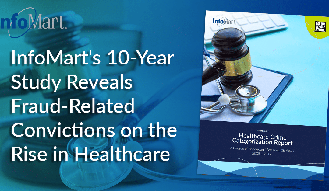 InfoMart's 10-Year Study Reveals Fraud-Related Convictions on the Rise in Healthcare
