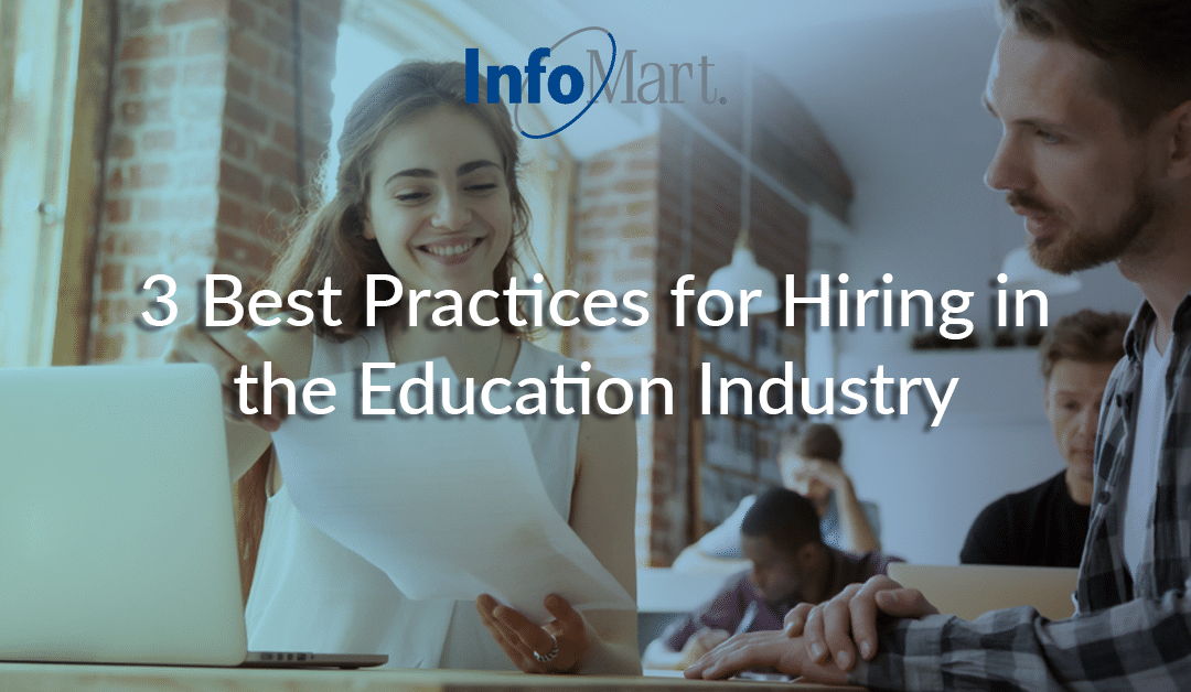 3 Best Practices for Hiring in the Education Industry